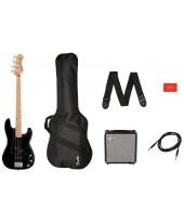 Fender SQ Aff. P Bass MN PJ Pack BLK