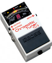 Boss TU-3 Chromatic Tuner - Stock B