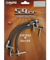 Klotz VINPAN0015 Vintage 59er Patch Cable 0.15m