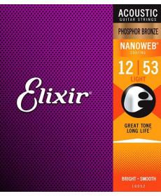 Elixir Nanoweb Light Phosphor Bronze