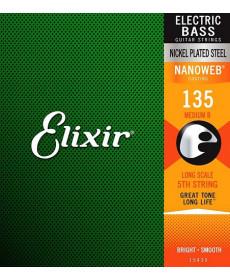 Elixir Nanoweb .135 Bass Single String