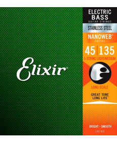 Elixir 14782 Stainless Steel L/M Bass