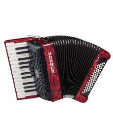 Hohner Bravo II 60 Red silent key