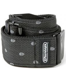 Dunlop Jacqguard Strap Gray Skull