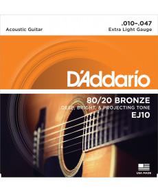Daddario EJ10 Extra Light