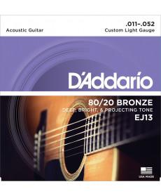 Daddario EJ13 Custom Light