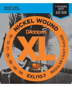 Daddario EXL110-7 Regular Light