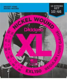 Daddario EXL150 Regular Light