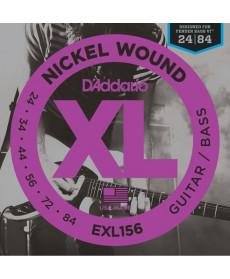 Daddario EXL156 Fender Bass VI