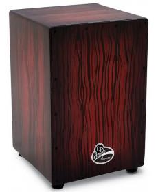 Latin Percussion Aspire Accents Cajon LPA1332-DWS Dark Wood Streak