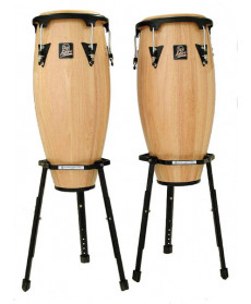 "Latin Percussion Aspire 11"" & 12"" Conga Set Natural"