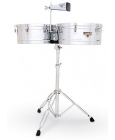 "Latin Percussion Matador 14"" & 15"" Chrome"