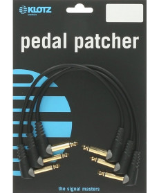 Klotz PP-AJJ0015 Pedal Patcher Angled 0.15m