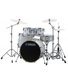 Yamaha Stage Custom Birch Studio c/ hardware Pure White