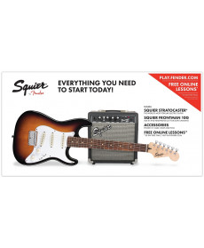 Fender SQ Strat Pack SSS BSB