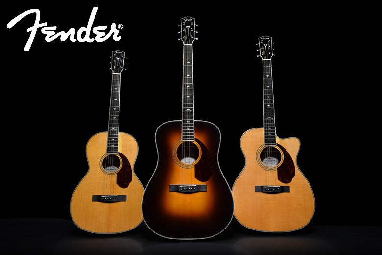 Conheça as nova Fender Paramount!!