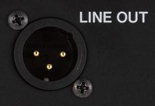 Line out de alta resolução